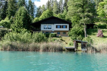 Hideaway Haus am Faakersee in Kärnten mit eigenem Seezugang bei Seebnb und WelcomePlaces