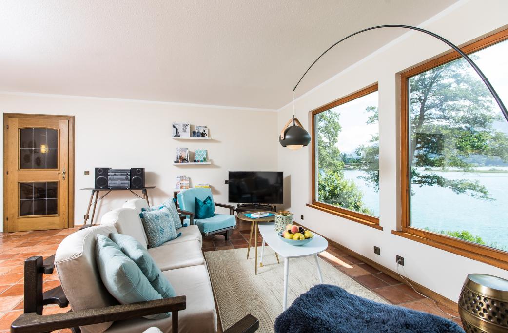 Hideaway Faakersee Ferienhaus mit privatem Seezugang bei Seebnb
