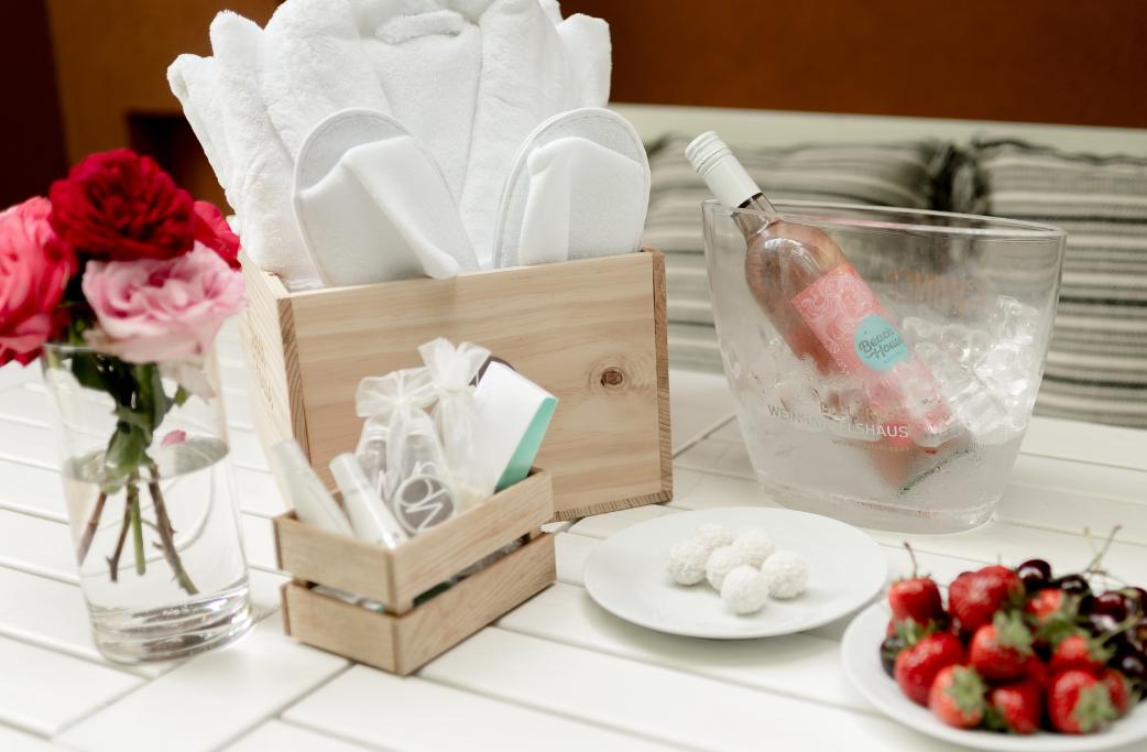 Luxus Paket von WelcomePlaces bei Seebnb Upselling Paket fürs Ferienapartment