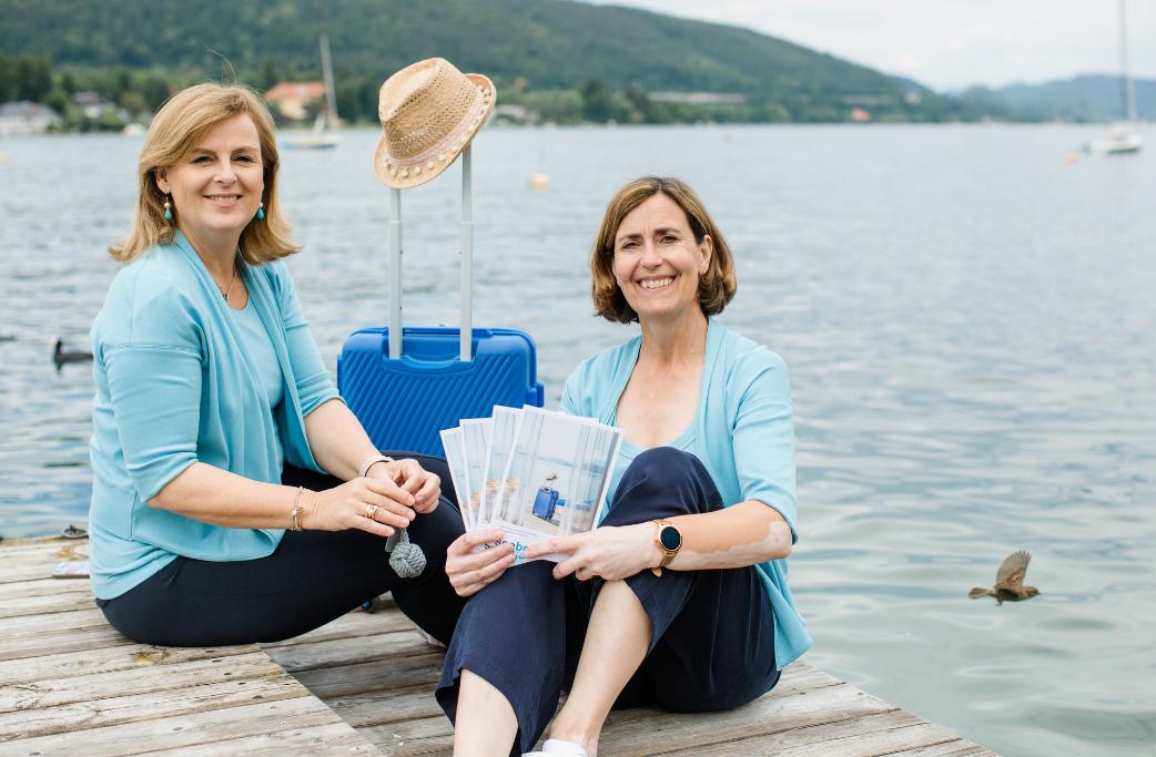 Seebnb Gründer Team Heide Pichler-Herritsch und Claudia Reibnegger