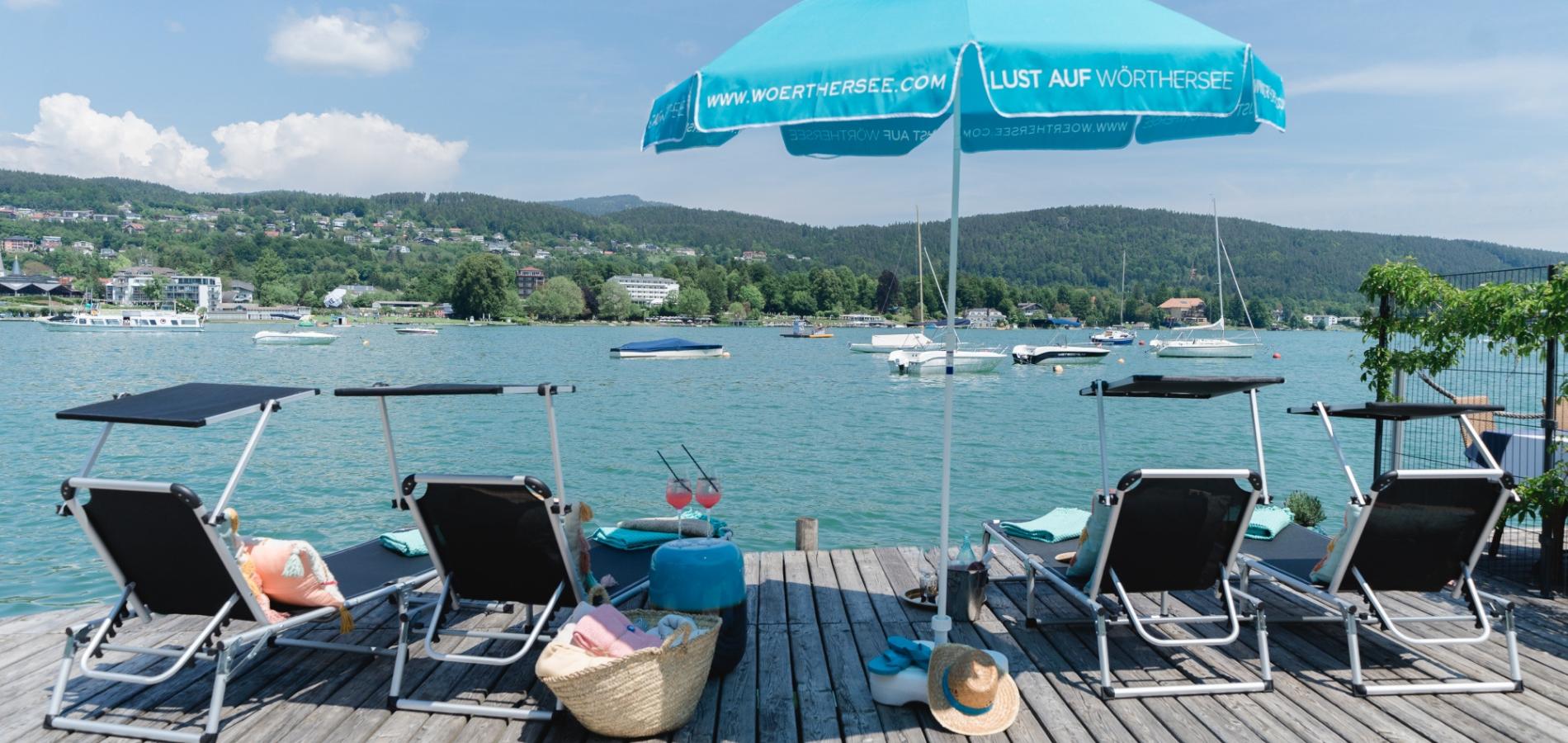 Privaten Badestrand mieten in Velden am Wörthersee Kärnten bei Seebnb
